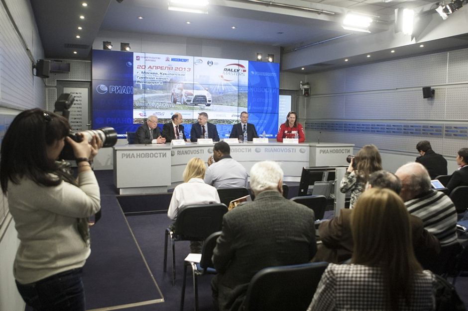 RMS press-conference at RIA Novosti